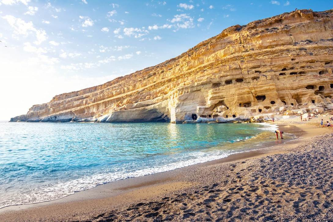 """""""Pitsidia auf Kreta im Hinterland der damaligen Hippie-Kommune Matala, wo wir in Höhlen gewohnt haben."""""""